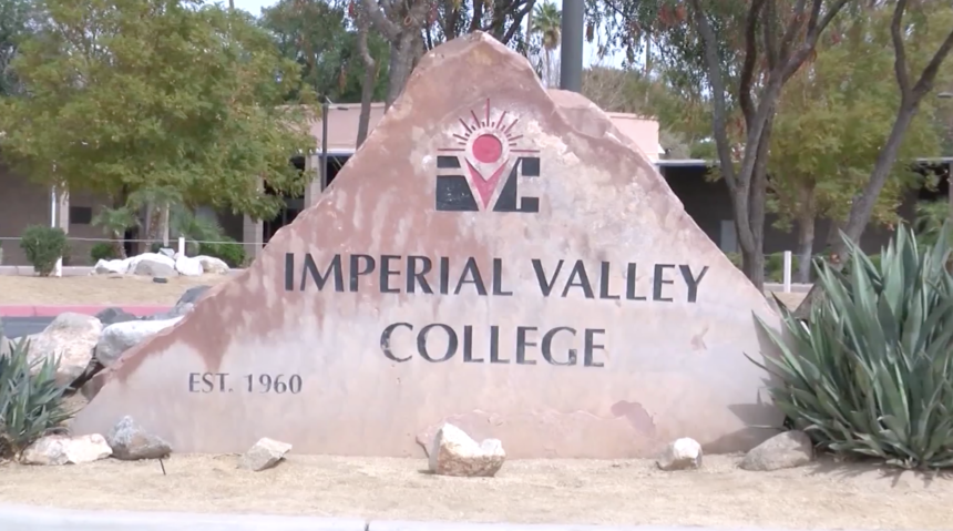 Imperial Valley College campus.