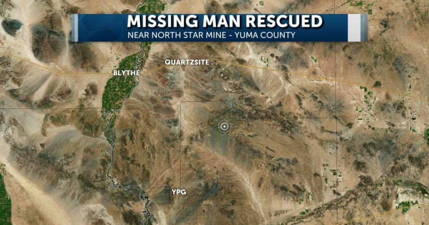 Missing Man Map
