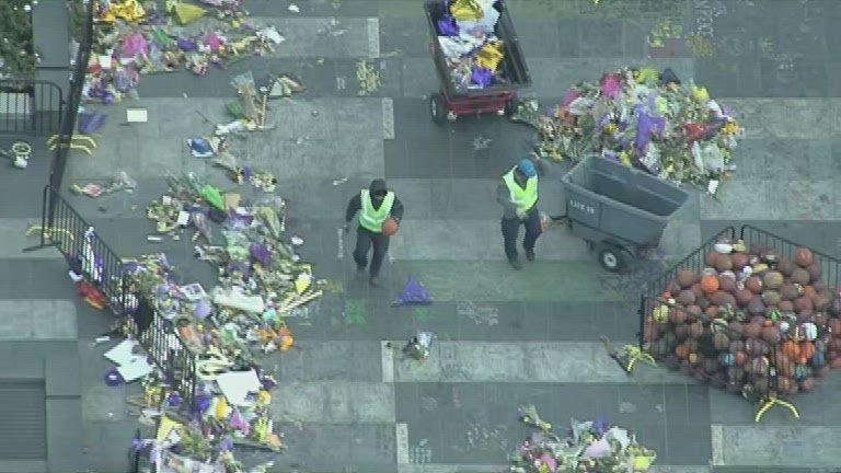 Kobe cleanup