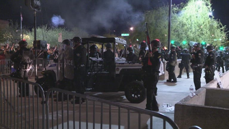 Phoenix Protests NBC:KPNX