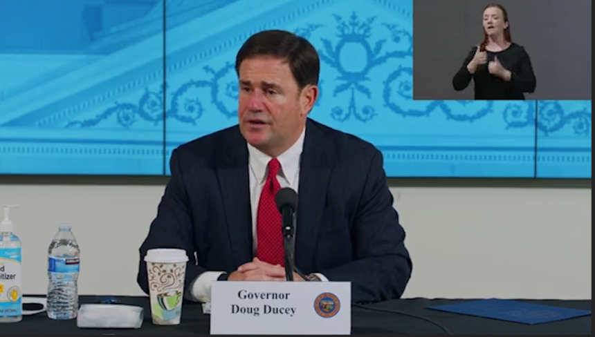 Governor Ducey briefing