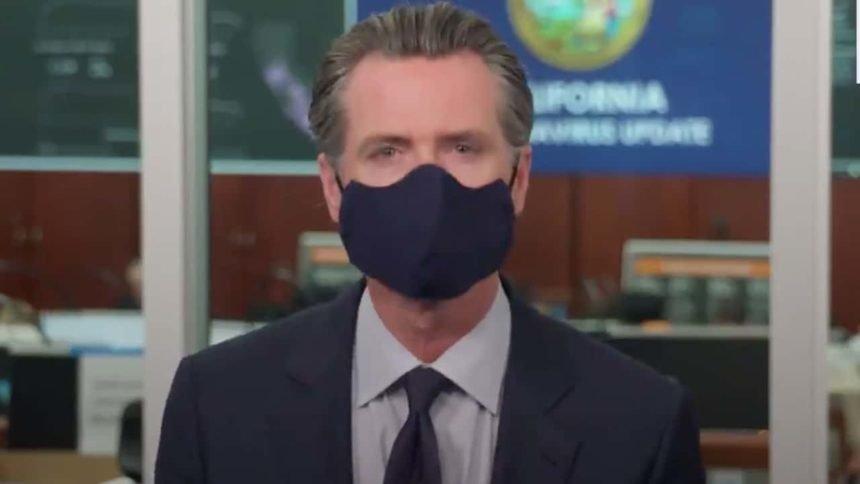 newsom mask