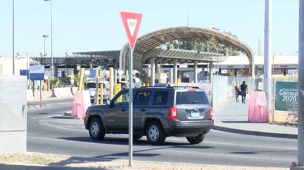 Border crossings at SL Port of Entry.
