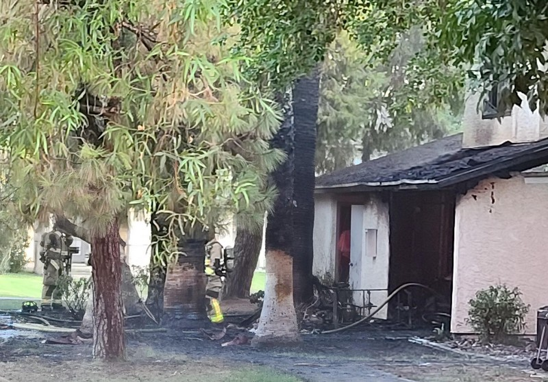 No injuries reported after fire damages two Camelot ...