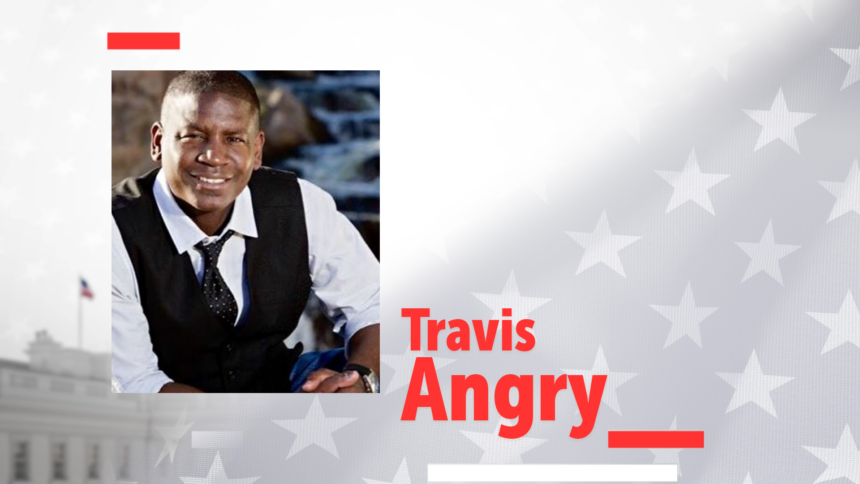 Travis Angry-
