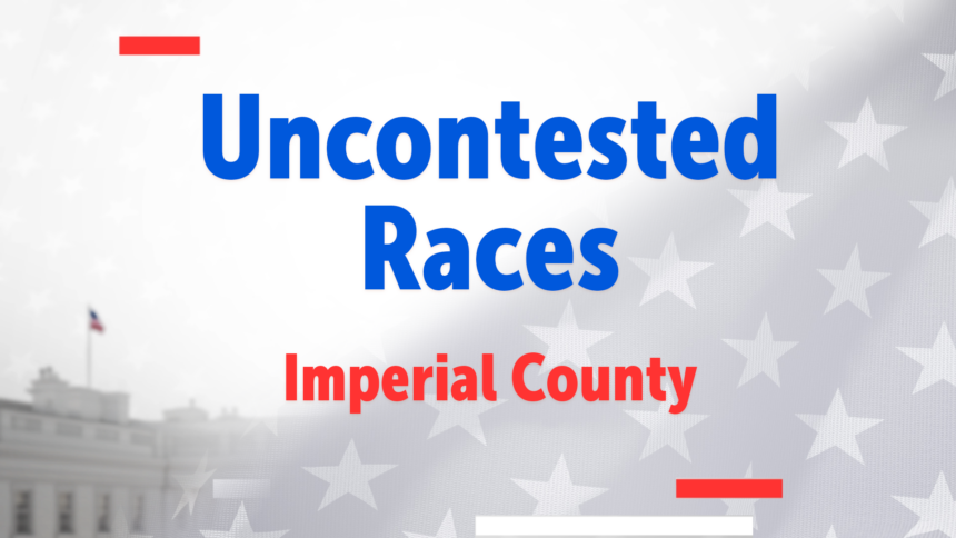 Uncontested Races IV