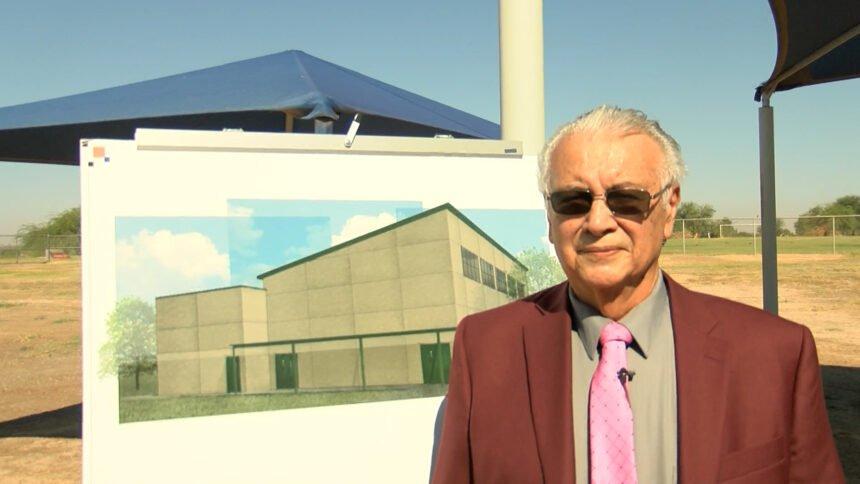 Dr. Raymond Aguilera.Superintendent of Gadsden School District