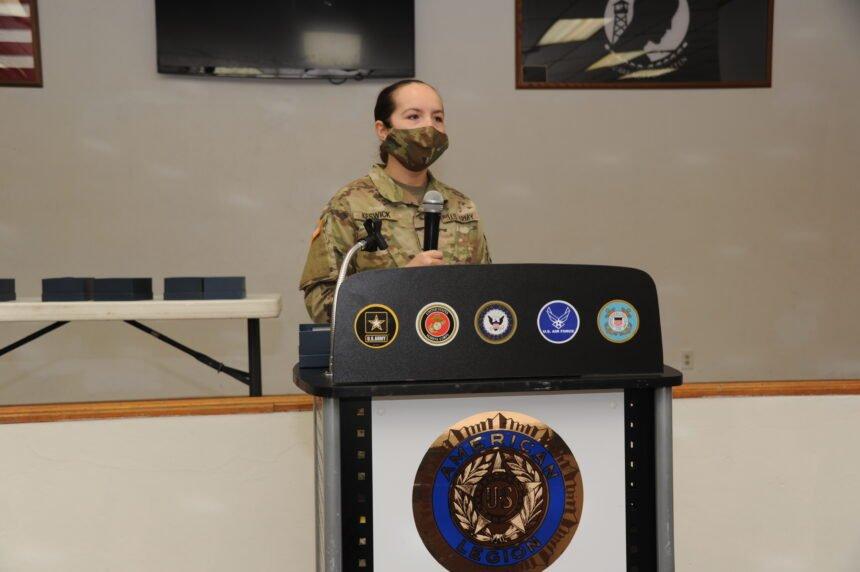 Army Specialist Kewsick