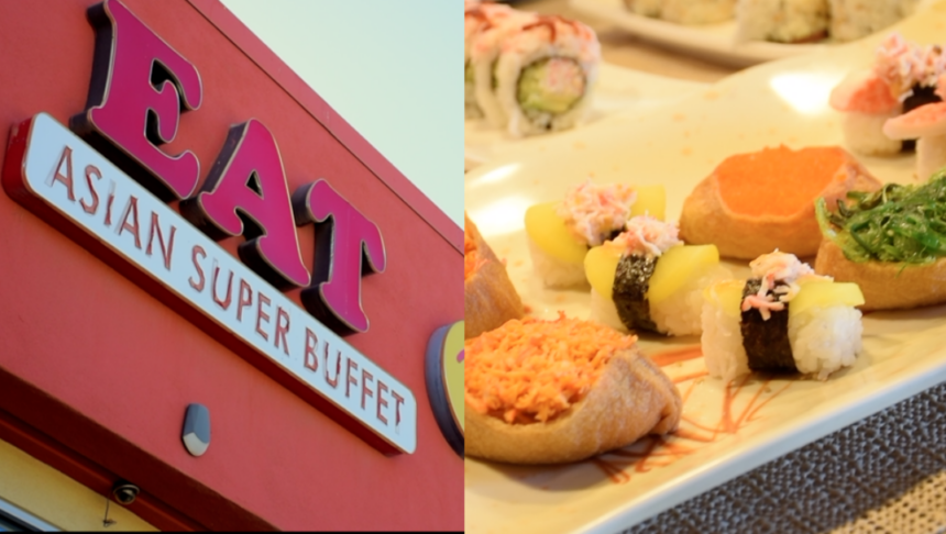 EAT asian buffet