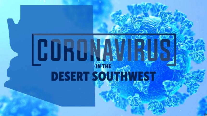 AZ coronavirus blue