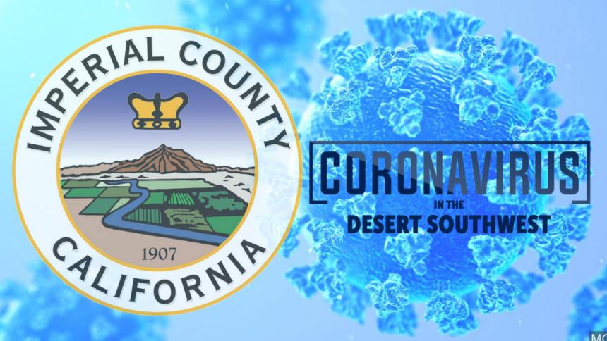 IC coronavirus blue