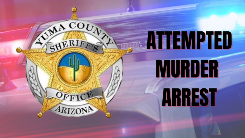 ATTEMPTED MURDER ARREST YCSO