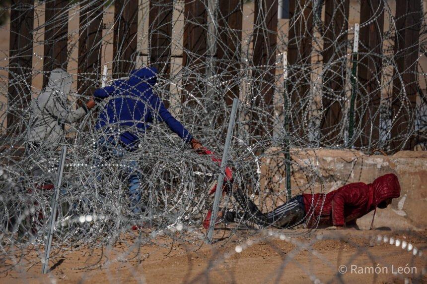 3 children illegally cross border