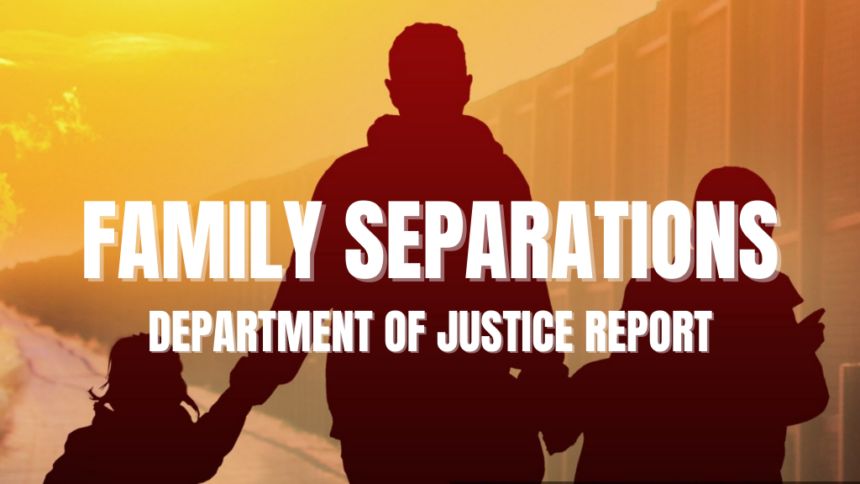 FAMILY SEPARATIONS