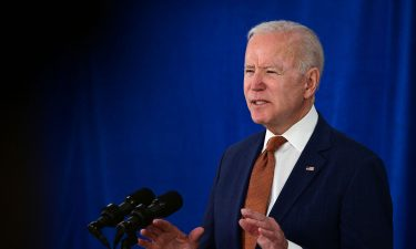 US President Joe Biden speaks about the May jobs report on June 4 in Delaware.