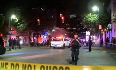At least 13 people were injured in a shooting in downtown Austin