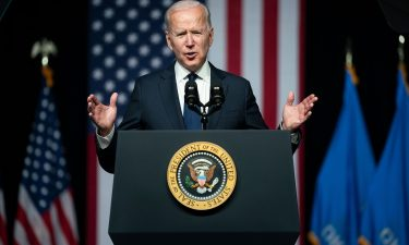 """President Joe Biden commended """"the cooperation of the American people in responding to my effort to get Covid under control."""""""