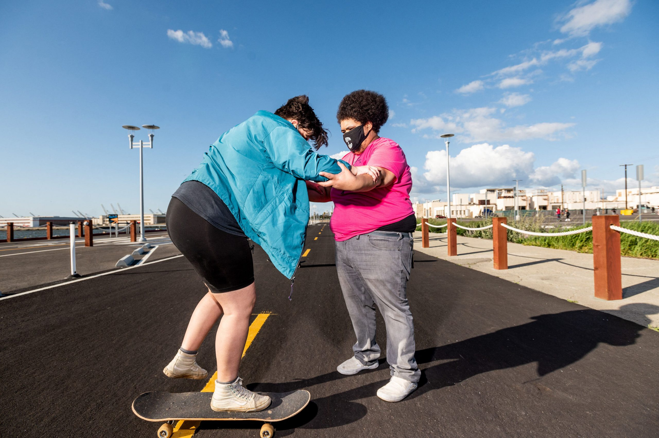 Overweight skateboard club is helping to get everyone in on the fun