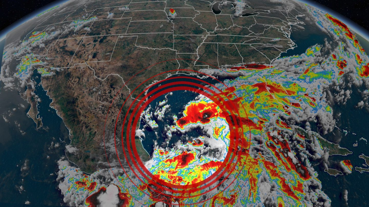<i>CNN Weather</i><br/>The US will likely be hit by the first tropical system of the season by the end of this week