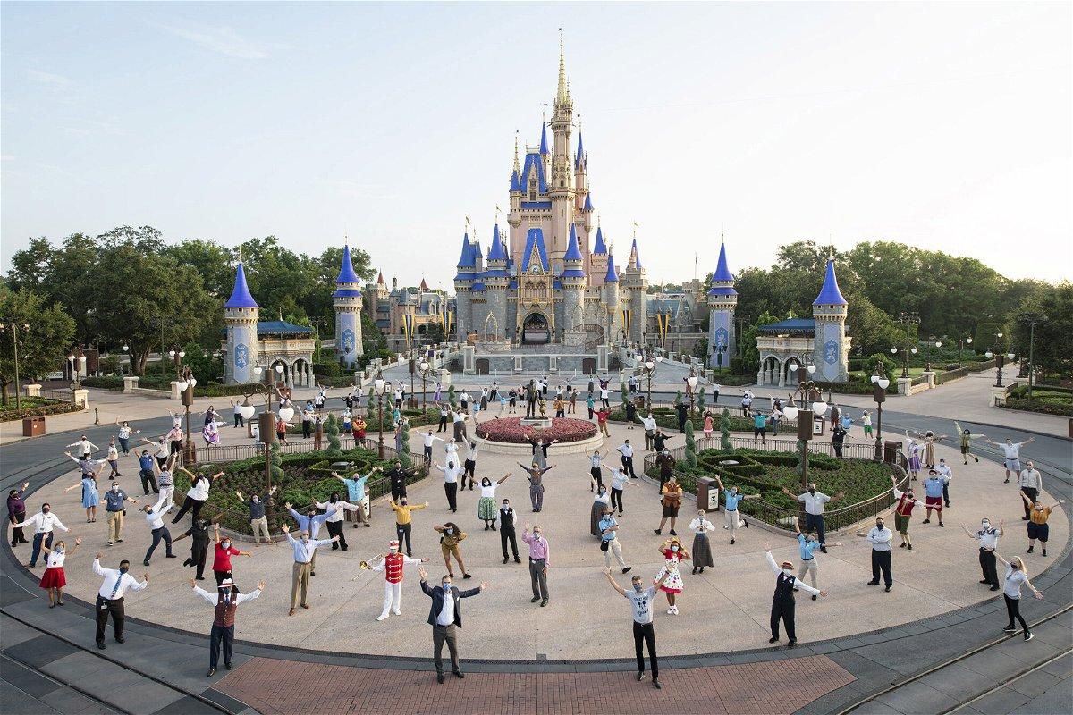 <i>David Roark/Walt Disney World Resort via Getty Images</i><br/>Walt Disney World reopened in July 2020.