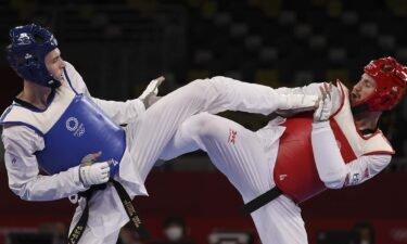 ROC's Khramtsov kicks to men's 80kg taekwondo gold medal