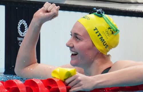 Australia's Ariarne Titmus won her second Olympic gold medal of the Tokyo Games