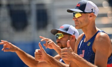 Philip Dalhausser and Nick Lucena advance to the Olympic quarterfinal