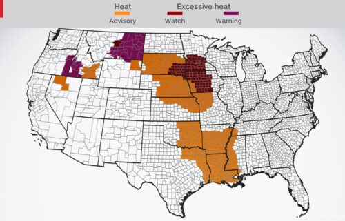 Heat alerts are in effect across the country July 26 through July for some regions.