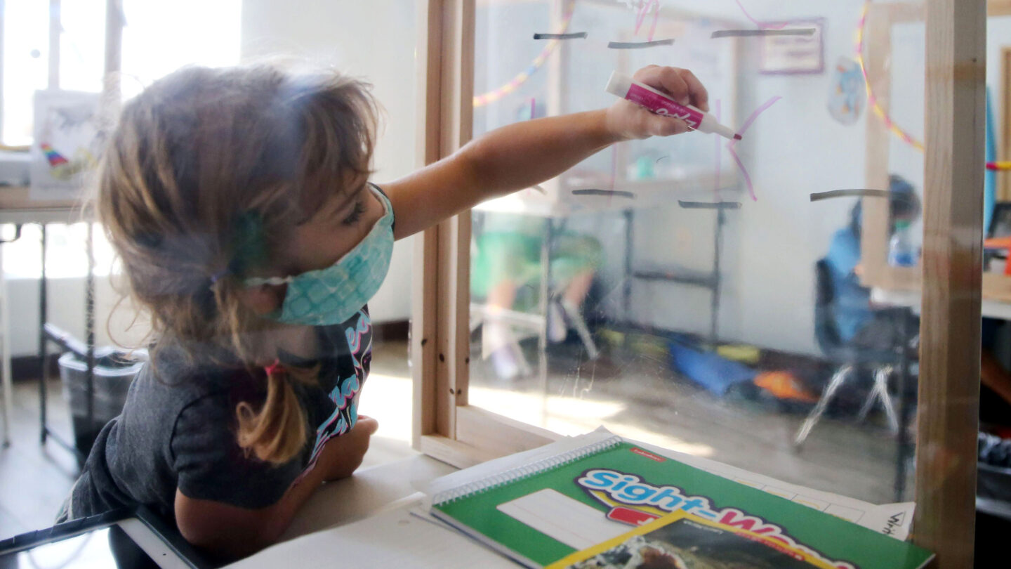 <i>Mario Tama/Getty Images</i><br/>The US Centers for Disease Control and Prevention recommended on July 27 that localities encourage all teachers