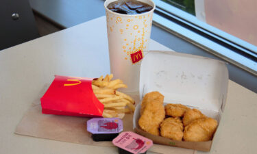 Sales at US McDonald's stores open at least 13 months jumped 25.9% in the past quarter.