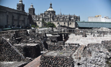 Mexico has maintained a rather liberal travel policy during the pandemic. This is a general view of the Templo Mayor archaeological area
