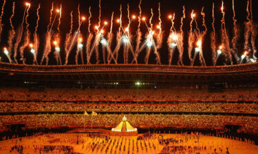 The Tokyo Olympics officially kicked off with the opening ceremony on July 23 (pictured)