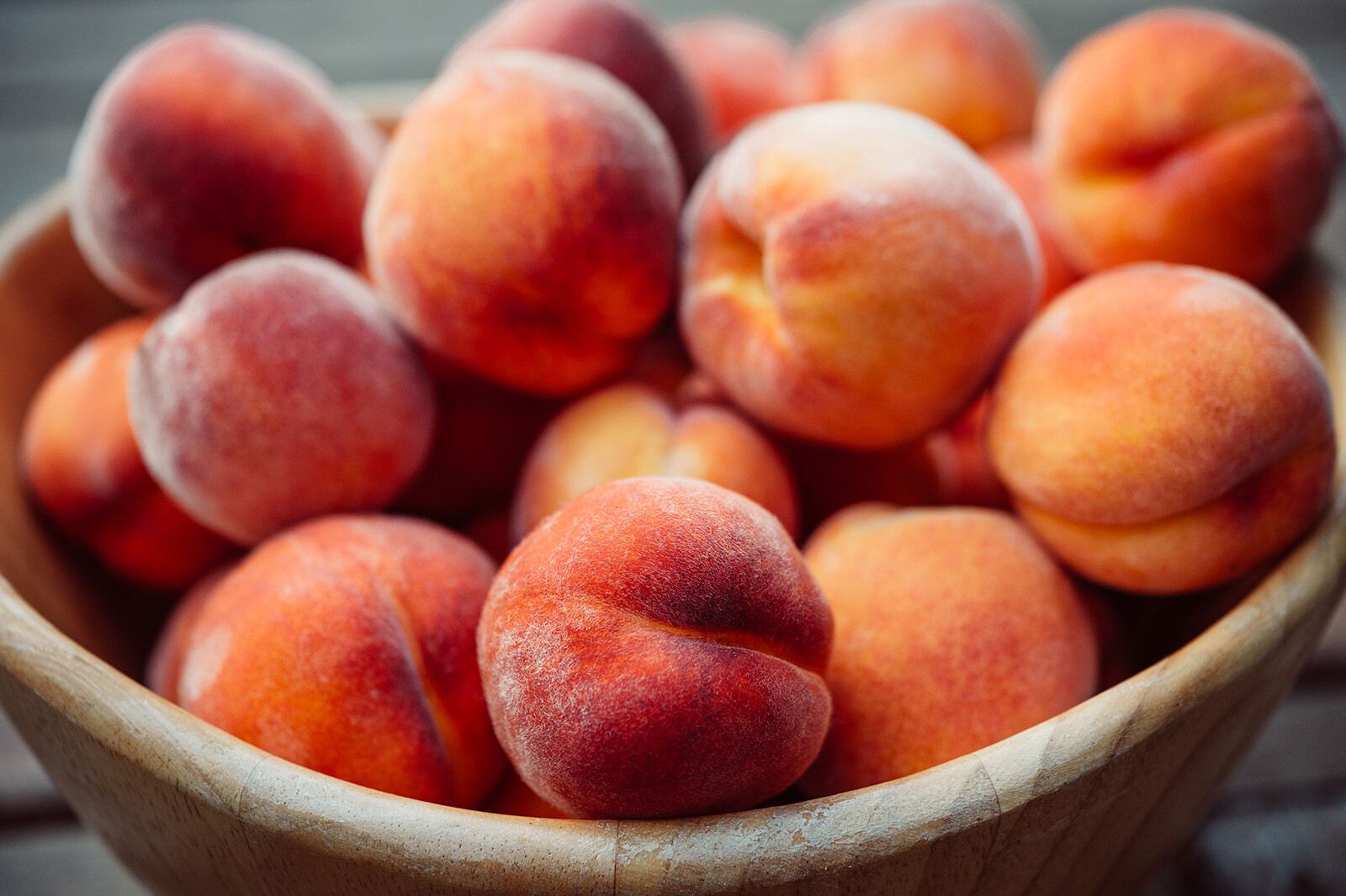 <i>Shutterstock</i><br/>Peaches are a great way to eat vitamins like A and C while enjoying a sweet treat this summer.