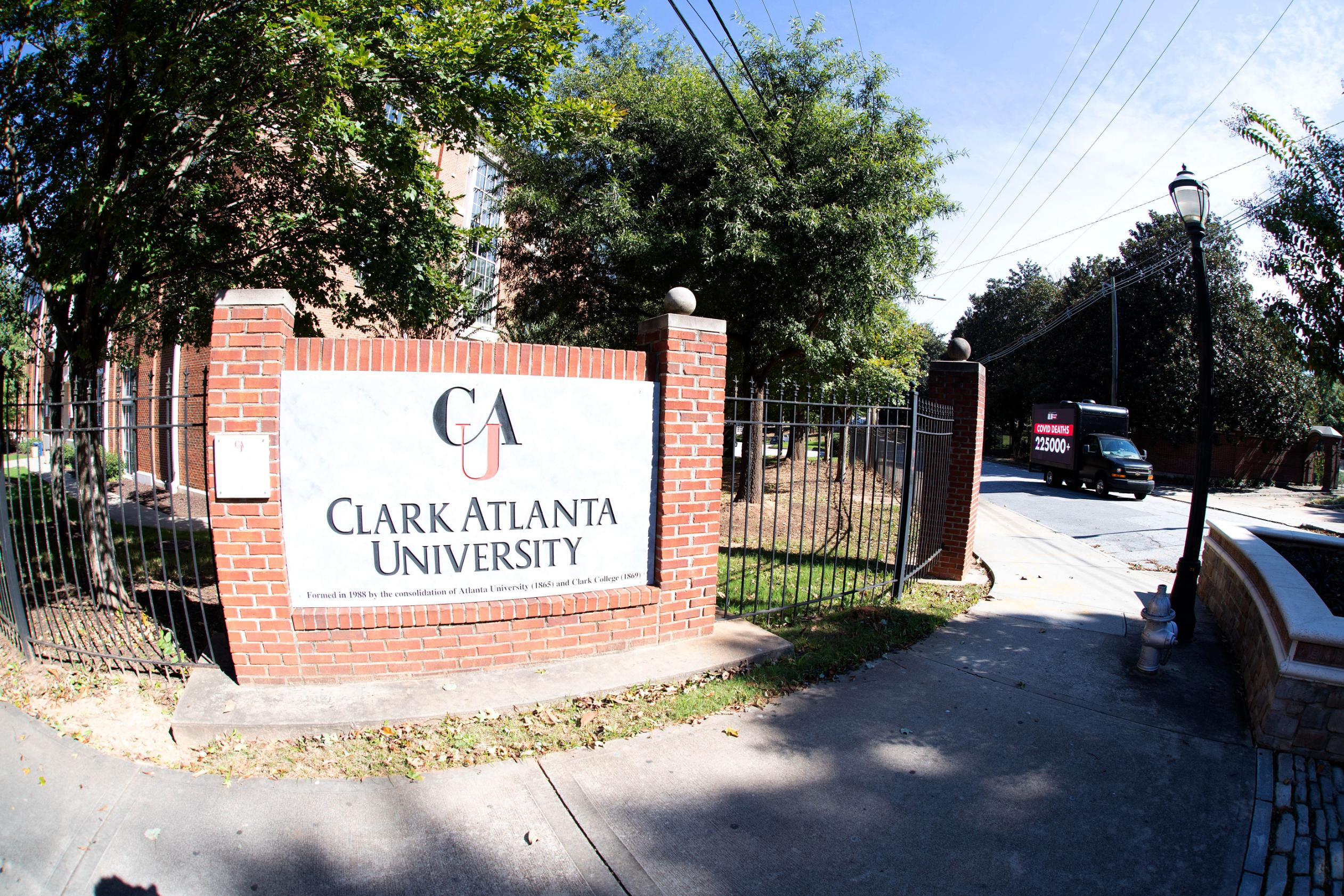 <i>Marcus Ingram/Getty Images North America/Getty Images for ALL IN: The Fig</i><br/>Clark Atlanta University says that it had received a substantial amount of support from the federal government under the CARES Act Higher Education Emergency Relief Fund