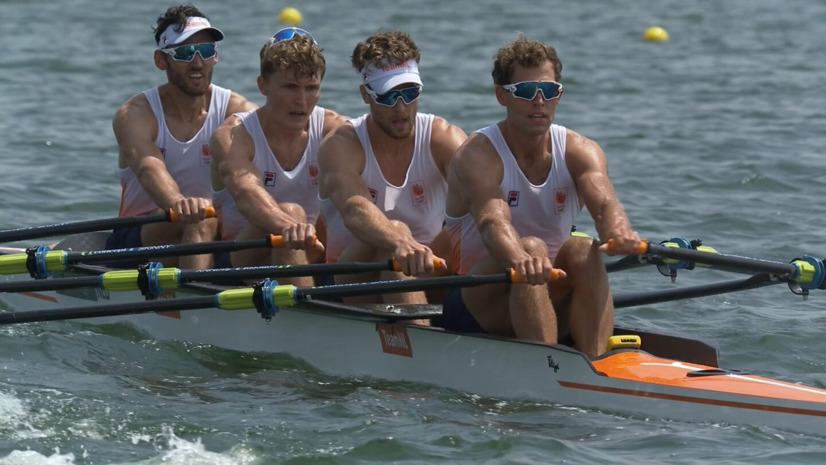 Netherlands wins its 1st Olympic men's quad gold
