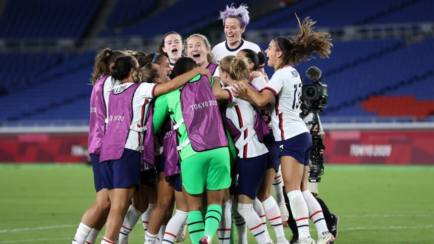 Better Together: Naeher and Rapinoe send USWNT to semifinals - KYMA