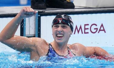 Katie Ledecky shines in first Olympic women's 1500 final