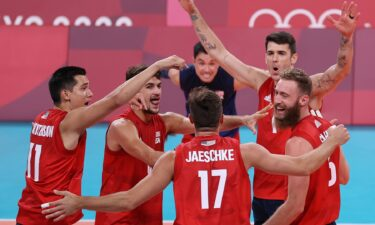 Team USA dominates Tunisia in men's volleyball pool play