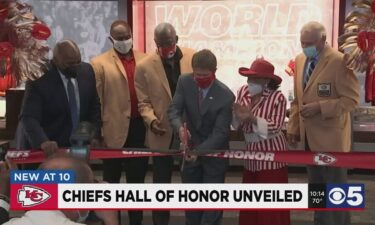 Former Chiefs players from every decade dating back to the 1960s helped unveil the new Chiefs Hall of Honor that underwent multimillion-dollar renovations during the off-season.