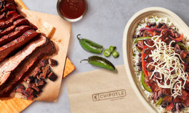 Chipotle is adding smoked brisket to its menus nationwide following a successful test conducted last year.