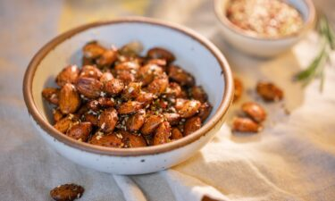 Roasted almonds get an upgrade with za'atar and rosemary.