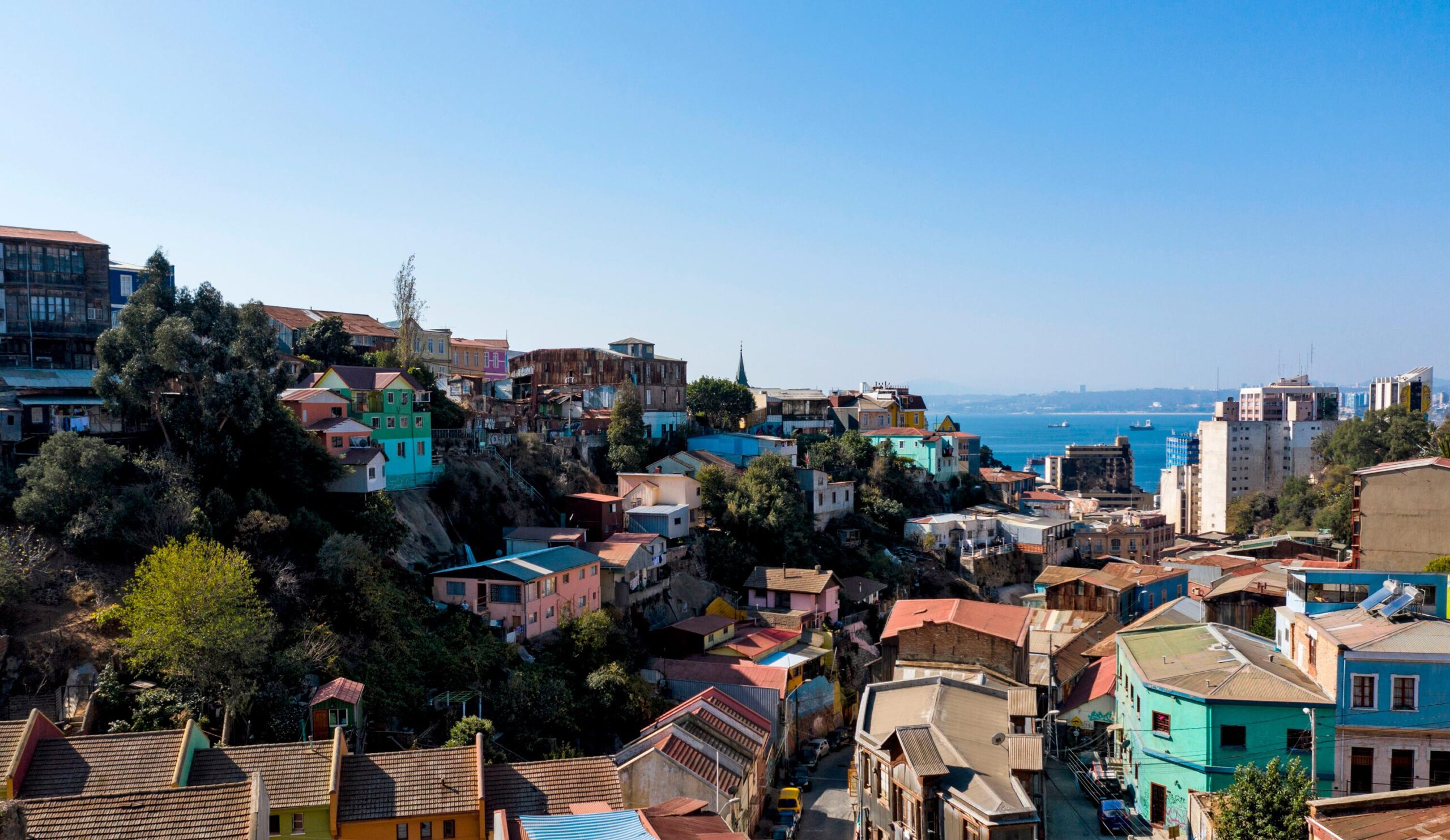 <i>Martin Bernetti/AFP/Getty Images</i><br/>View of Valparaiso
