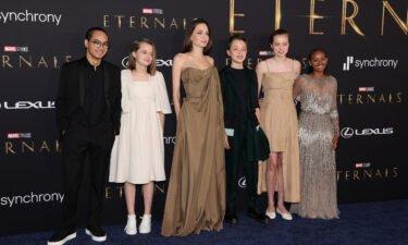 (L-R) Maddox  Jolie-Pitt