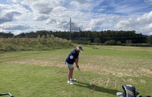 Debbie Blount didn't start playing golf until she was 33